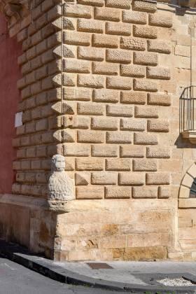 Bugnato A Cuscino.Palazzo Majorana Della Nicchiara Militello In Val Di Catania